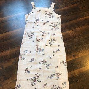 90s Vintage Floral Dress XS